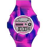 JoyJoy 。MarbledラズベリーパープルInterchangeable Silicone Watch jj-4098W