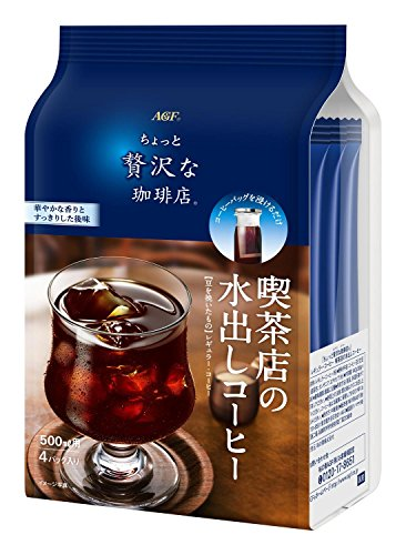 AGF ちょっと贅沢な珈琲店レギュラーコーヒー 喫茶店水出しコーヒー 4袋×6袋
