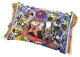 キュウレンジャー 子供用 枕 ジュニアまくら 28×39cm 綿100% 【日本製】 003060010190012