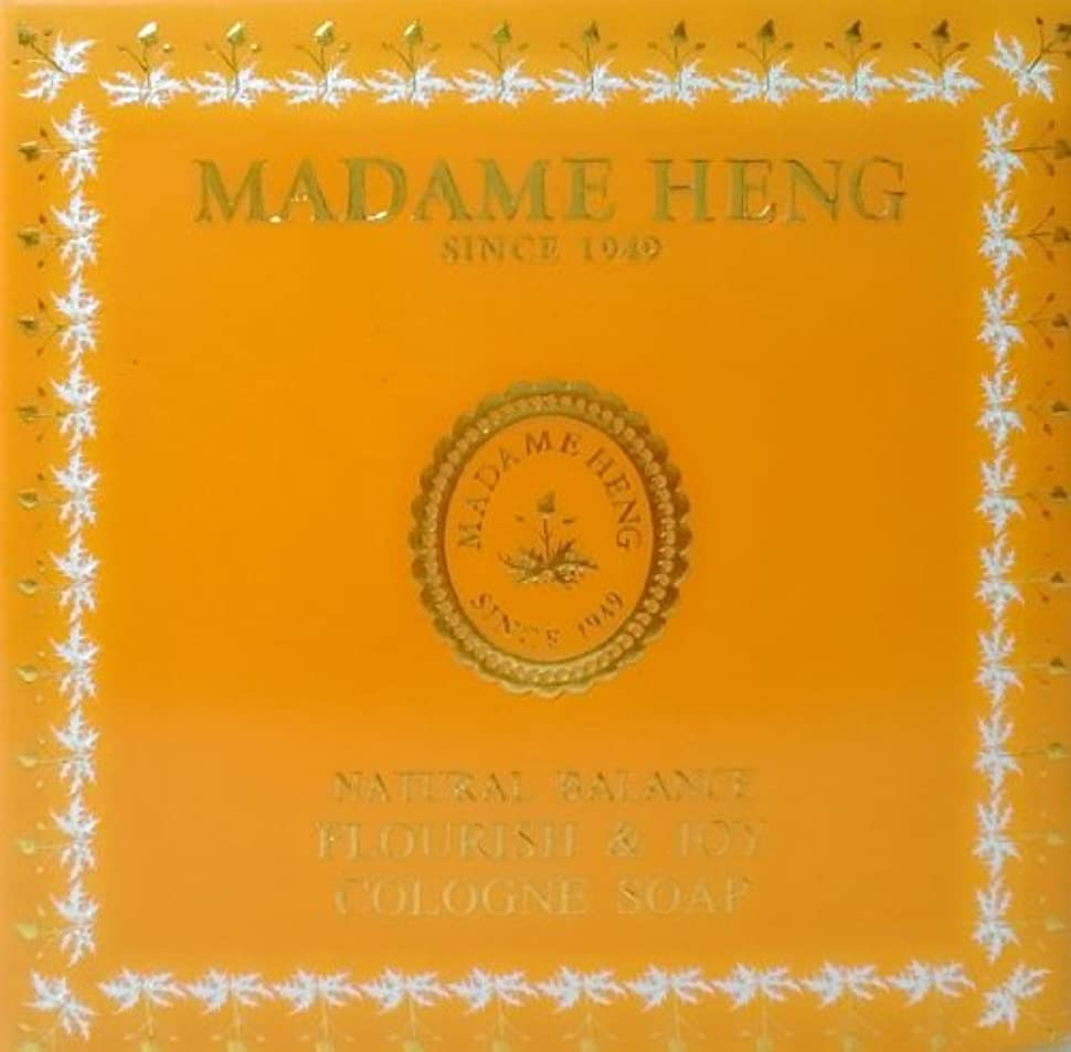 欠伸無法者伝記MADAME HENG NATURAL BALANCE FLOURISH & JOY COLOGNE SOAP