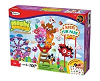 Colorforms Moshi Monsters Moshi Fun Parkアクティビティパズル( 100ピース) by Colorforms