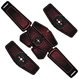 Vkaiy EMS 腹筋ベルト ウエストベルト 筋トレ 腹筋トレーニング 腹筋パッド 腕筋 多部位 6モード 10レベル強度 USB充電 男女兼用 日本語説明書付属