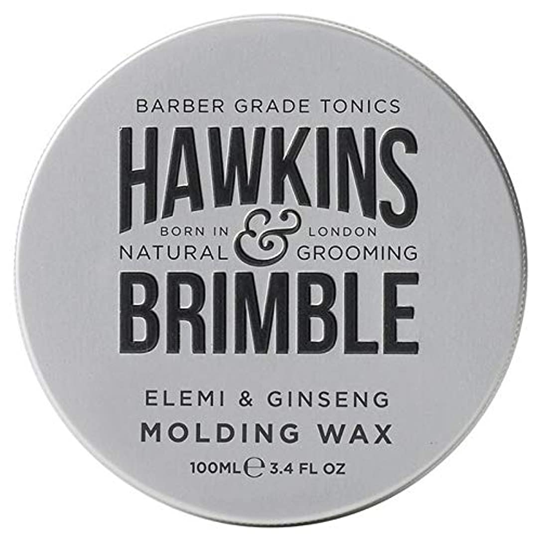 変換重要な役割を果たす、中心的な手段となる壊れた[Hawkins & Brimble] ホーキンス&Brimble成形ヘアワックス100ミリリットル - Hawkins & Brimble Molding Hair Wax 100ml [並行輸入品]