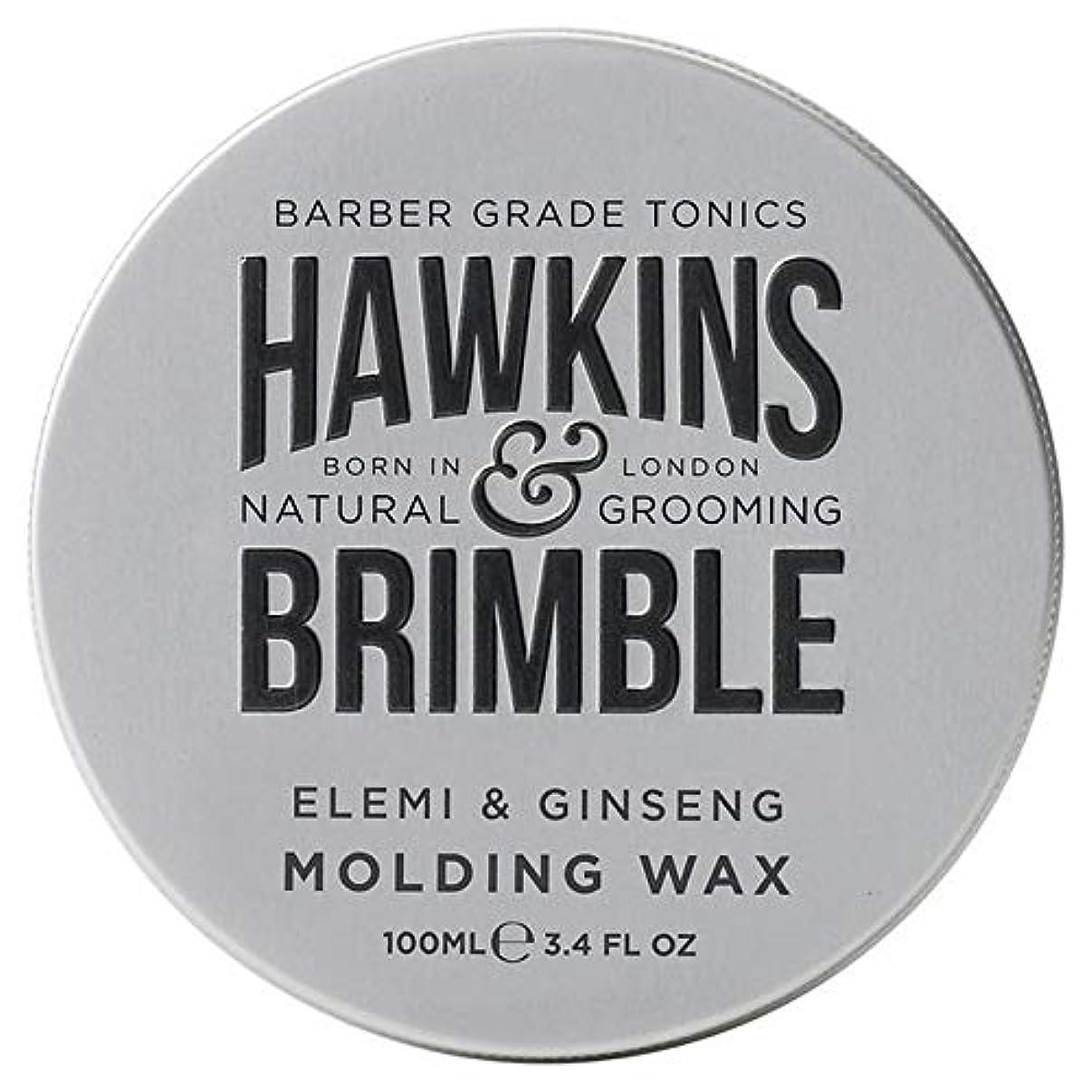 一見群がるダルセット[Hawkins & Brimble] ホーキンス&Brimble成形ヘアワックス100ミリリットル - Hawkins & Brimble Molding Hair Wax 100ml [並行輸入品]