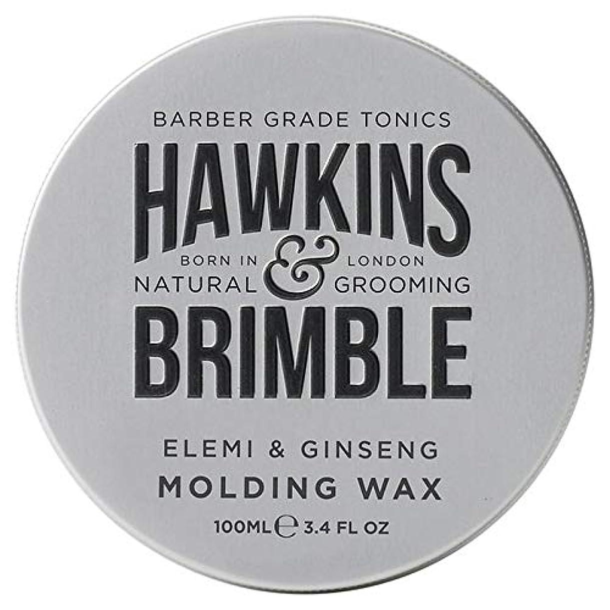 宅配便保有者シャイ[Hawkins & Brimble] ホーキンス&Brimble成形ヘアワックス100ミリリットル - Hawkins & Brimble Molding Hair Wax 100ml [並行輸入品]