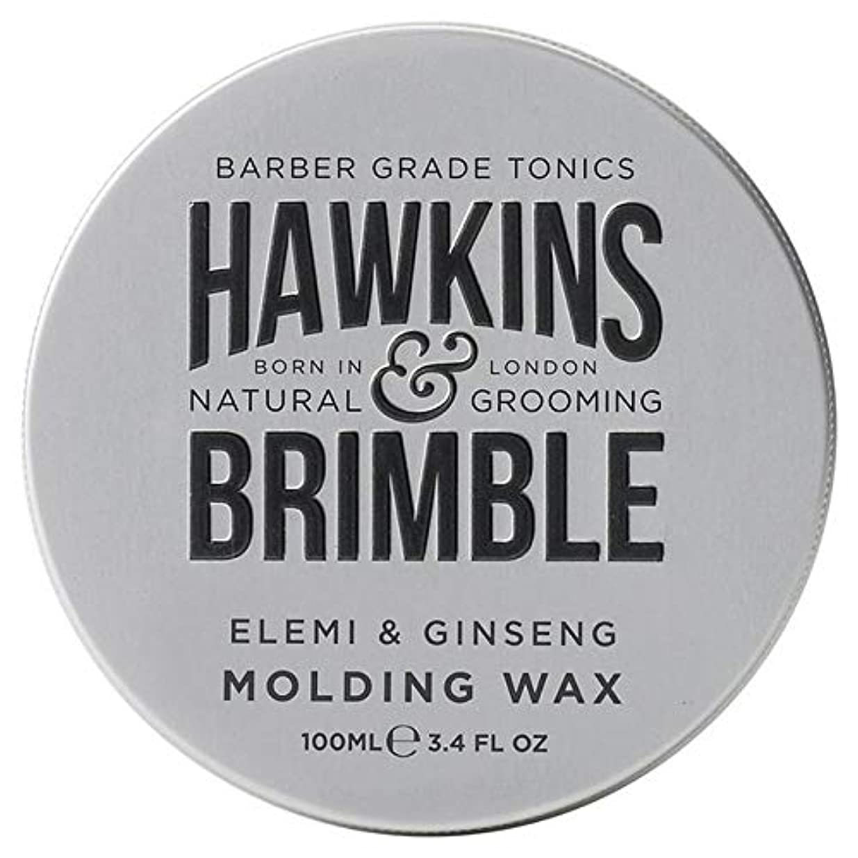包帯コインランドリー整理する[Hawkins & Brimble] ホーキンス&Brimble成形ヘアワックス100ミリリットル - Hawkins & Brimble Molding Hair Wax 100ml [並行輸入品]