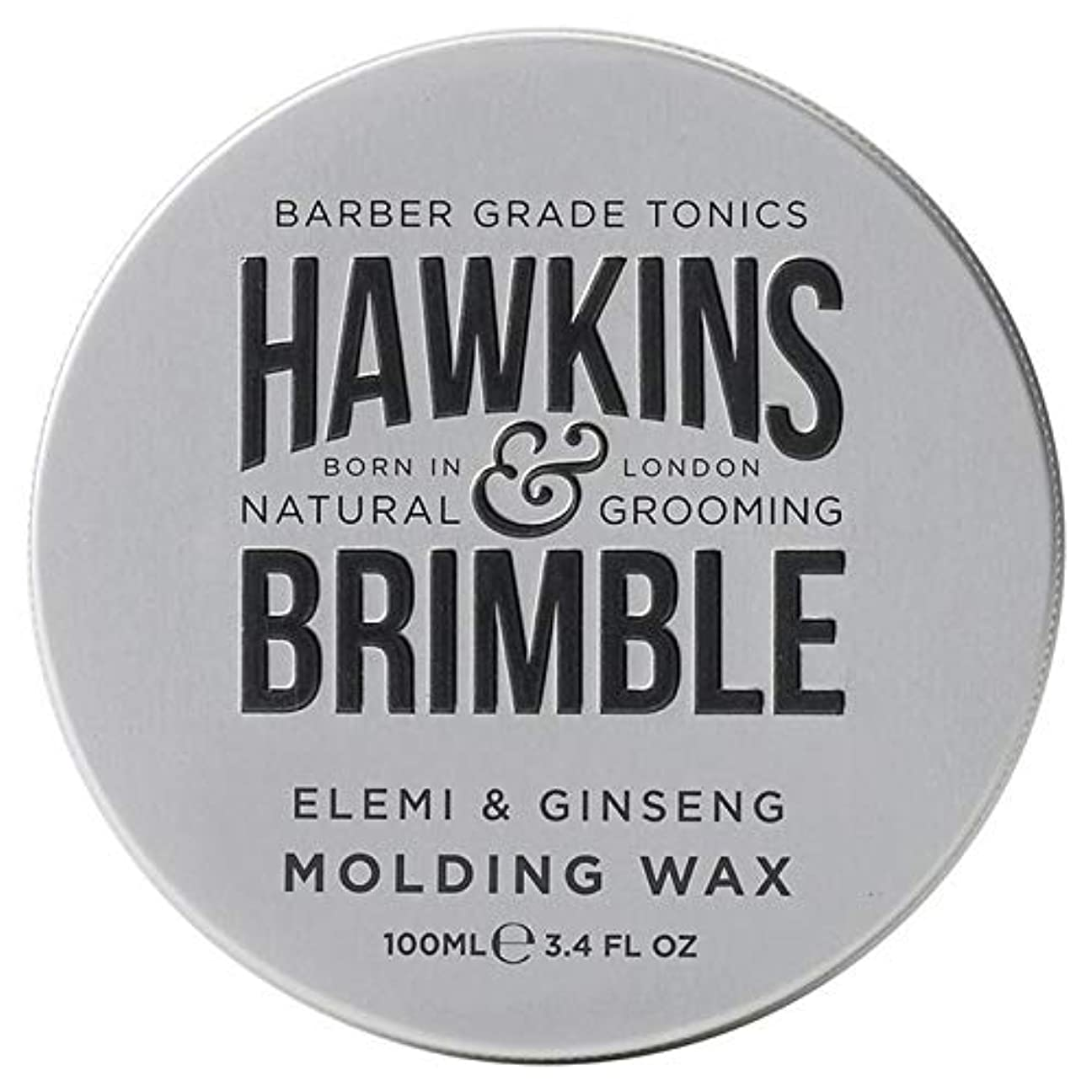 船酔い薄いですである[Hawkins & Brimble] ホーキンス&Brimble成形ヘアワックス100ミリリットル - Hawkins & Brimble Molding Hair Wax 100ml [並行輸入品]