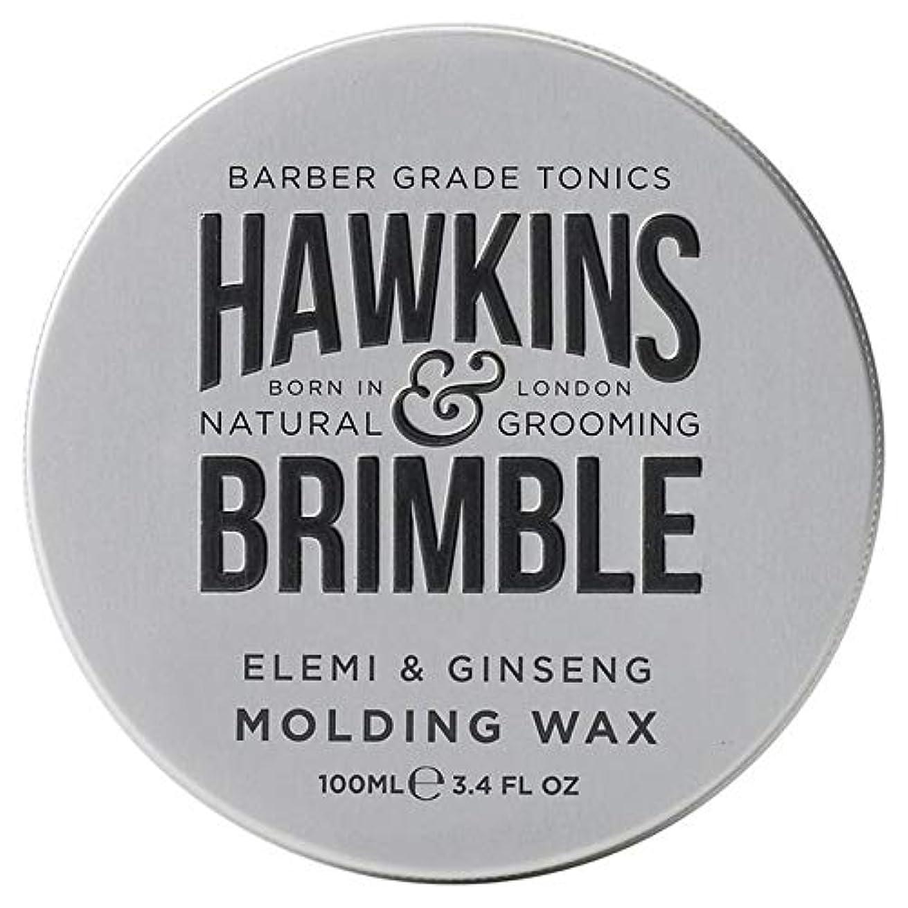 社会主義者発送なんでも[Hawkins & Brimble] ホーキンス&Brimble成形ヘアワックス100ミリリットル - Hawkins & Brimble Molding Hair Wax 100ml [並行輸入品]