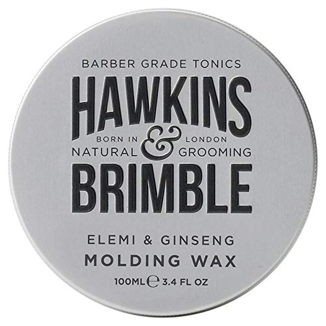 適用するすることになっているコジオスコ[Hawkins & Brimble] ホーキンス&Brimble成形ヘアワックス100ミリリットル - Hawkins & Brimble Molding Hair Wax 100ml [並行輸入品]