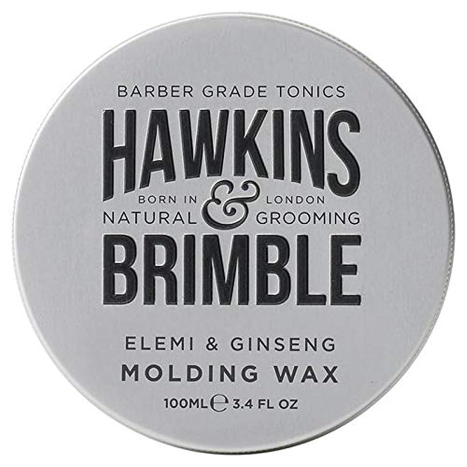 溶融博覧会周り[Hawkins & Brimble] ホーキンス&Brimble成形ヘアワックス100ミリリットル - Hawkins & Brimble Molding Hair Wax 100ml [並行輸入品]