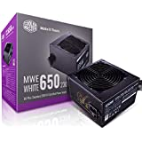 Cooler Master MWE 80Plus White 650W 230V 80Plus Single +12V Rail Silent Mode DC-to-DC Power Supply - Black - MPE-6501-ACABW-A
