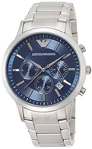 エンポリオ アルマーニ EMPORIO ARMANI 腕時計 クロノグラフ シルバー メンズ 腕時計 AR2448【並行輸入品】