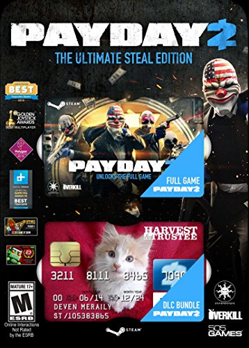 Payday 2: Ultimate Steal Pack - PC(輸入版:北米)