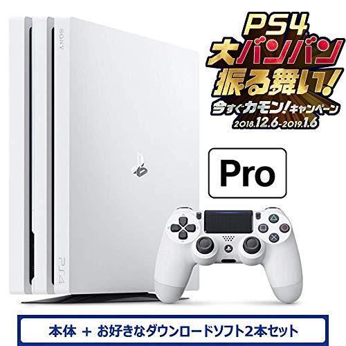 PlayStation 4 Pro グレイシャー・ホワイト ...