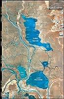 標準マップ標準ラミネートマップ湖Verret Md # : m022by標準マップ