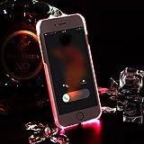 iPhone6s plusケース LED フラッシュ iPhone6plus 用ケース 着信光る アイフォン6s PLUSケース 超薄型 PCカバー スマホ 保護ハートケース