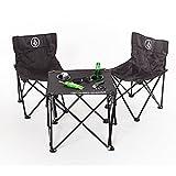 VOLCOM(ボルコム) < アウトドアシリーズ > テーブル チェア セット 軽量 ( 折りたたみ ) [ D67118JB / Volcom Beach Chair Set ] おし..