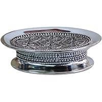 nu steel Beaded Heart Soap Dish