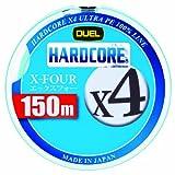 デュエル(DUEL) PEライン ハードコア X4 150m 1.2号 ミルキーグリーン H3276-MG