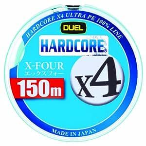 デュエル(DUEL) ライン HARDCORE X4 150m 0.6号 W