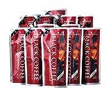 キャラバンコーヒー ブラックコーヒー 加糖 1L×12袋