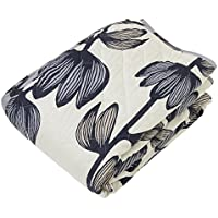 東京西川 ベッドスプレッド ベージュ シングル フィンレイソン アルマ(花) 柄 日本製 綿100% PG98152678BE