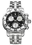 [ティソ]TISSOT 腕時計 PRS200 クロノダイバー ブラック・シルバー メンズ T17148653 メンズ [正規輸入品]