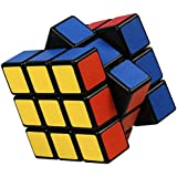 FCBB Frosted Sticker 3x3x3 Speed Puzzle Cube Black Toy Game