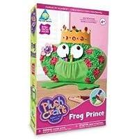 PlushCraft プラッシュクラフト キッズ 子供 クラフト 手作り ぬいぐるみ フロッグプリンス カエルの王子様 The Orb Factory