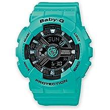 Casio Baby-G Analogue/Digital Female Green/Blue Watch BA-111-3A BA-111-3ADR