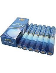 Govinda ® Incense – Aqua Fresh – 120 Incense Sticks、プレミアムIncense、Masalaコーティング