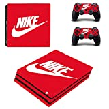 PS4 pro プロ 専用スキンシールΓナイキ Nike 」 本体用 + コントローラー用 × 2枚 ノーブランド 0210 [並行輸入品]