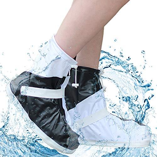 [WARMQ] シューズカバー 完全防水 靴カバー レインブーツ PVC 耐...