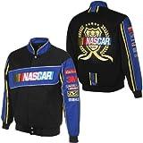 JH Design Nascar Racing Twillメンズジャケット–公式ライセンスデザイン XX-Large