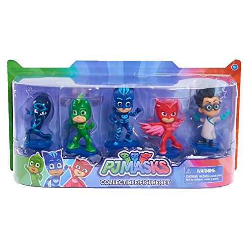パジャマスク 人形 ミニ フィギュア 5体 セット 子供 お...