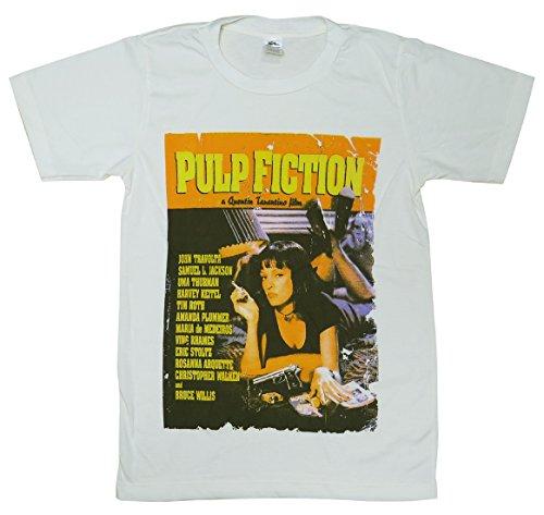 パルプフィクション/PULP FICTION/Tシャツ/ナチュラルホワイト/メンズ/レディース (S)