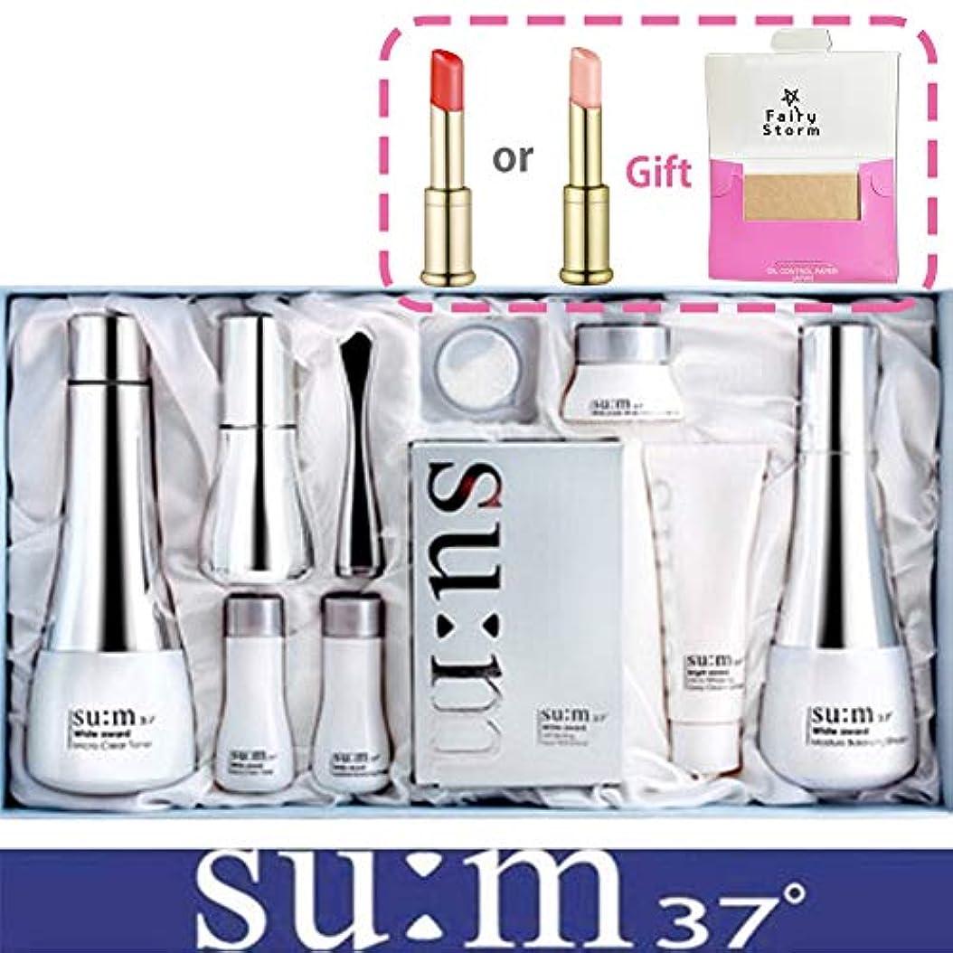 冷蔵する世界的に以上[su:m37/スム37°] SUM37 White Awards 3EA Special Set/ホワイトアワード 3種 スペシャルセット+[Sample Gift](海外直送品)