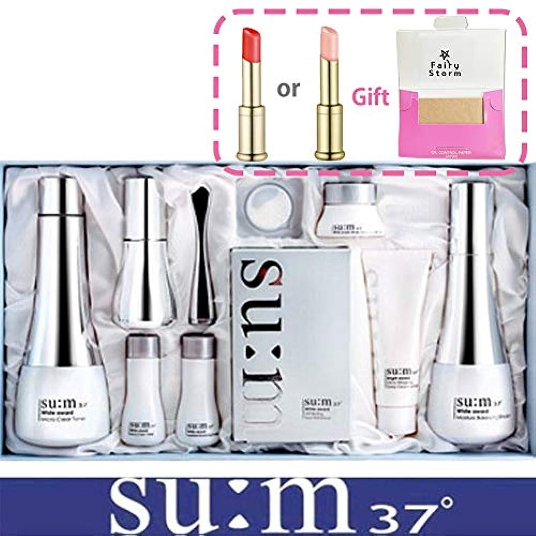 抑止する能力側溝[su:m37/スム37°] SUM37 White Awards 3EA Special Set/ホワイトアワード 3種 スペシャルセット+[Sample Gift](海外直送品)
