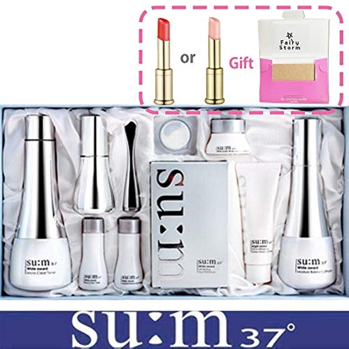 多用途織機離す[su:m37/スム37°] SUM37 White Awards 3EA Special Set/ホワイトアワード 3種 スペシャルセット+[Sample Gift](海外直送品)