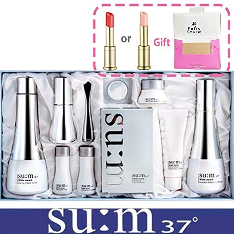 多くの危険がある状況スプリット月面[su:m37/スム37°] SUM37 White Awards 3EA Special Set/ホワイトアワード 3種 スペシャルセット+[Sample Gift](海外直送品)