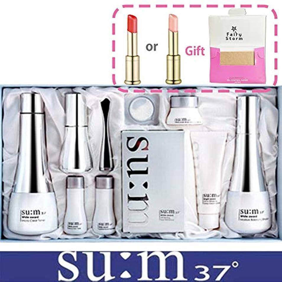 滝暴行雨の[su:m37/スム37°] SUM37 White Awards 3EA Special Set/ホワイトアワード 3種 スペシャルセット+[Sample Gift](海外直送品)