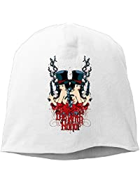 【Dera Princess】 男女兼用 ニット帽 Beauty Double Heroロゴ コットン ニットキャップ 帽子 オールシーズン 被れる