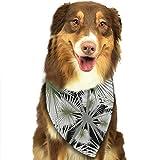 Derrick Amanda 葉 ペットスカーフ 犬用 猫用 アクセサリー お出かけ スカーフ よだれカバー 食事用 お散歩 お出かけ ペットバンダナ 三角形スカーフ おしゃれ 唾液スカーフ ネッカチーフ コスチューム