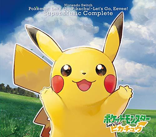 [画像:Nintendo Switch ポケモンLet's Go! ピカチュウ・ Let's Go! イーブイ スーパーミュージック・コンプリート]