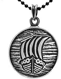 exoticdream中世Viking Dovahkiin Viking Longboat出荷Norseピューターペンダントペンダントジュエリー+ 24