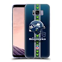 オフィシャル NFL ヘルメット シアトル・シーホークス ロゴ Samsung Galaxy S8+ / S8 Plus 専用ソフトジェルケース