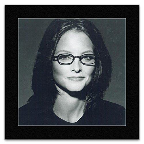JODIE FOSTER - Glasses Mini Poster - 25x25cm