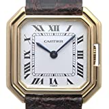 Cartier(カルティエ) サンチュール K18YG 手巻き 白文字盤 18K 750 Cartier OH済み 仕上げ済み メンズ 中古