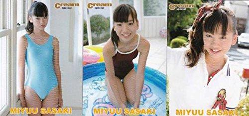佐々木みゆう Cream SPカード CSP3枚セット -