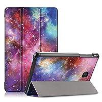 DETUOSI サムスン Galaxy Tab A 8.0インチケース - 超薄型保護スマートケースカバースタンド Samsung Galaxy Tab A 8.0インチ SM-T387タブレット #MA06485TYUS